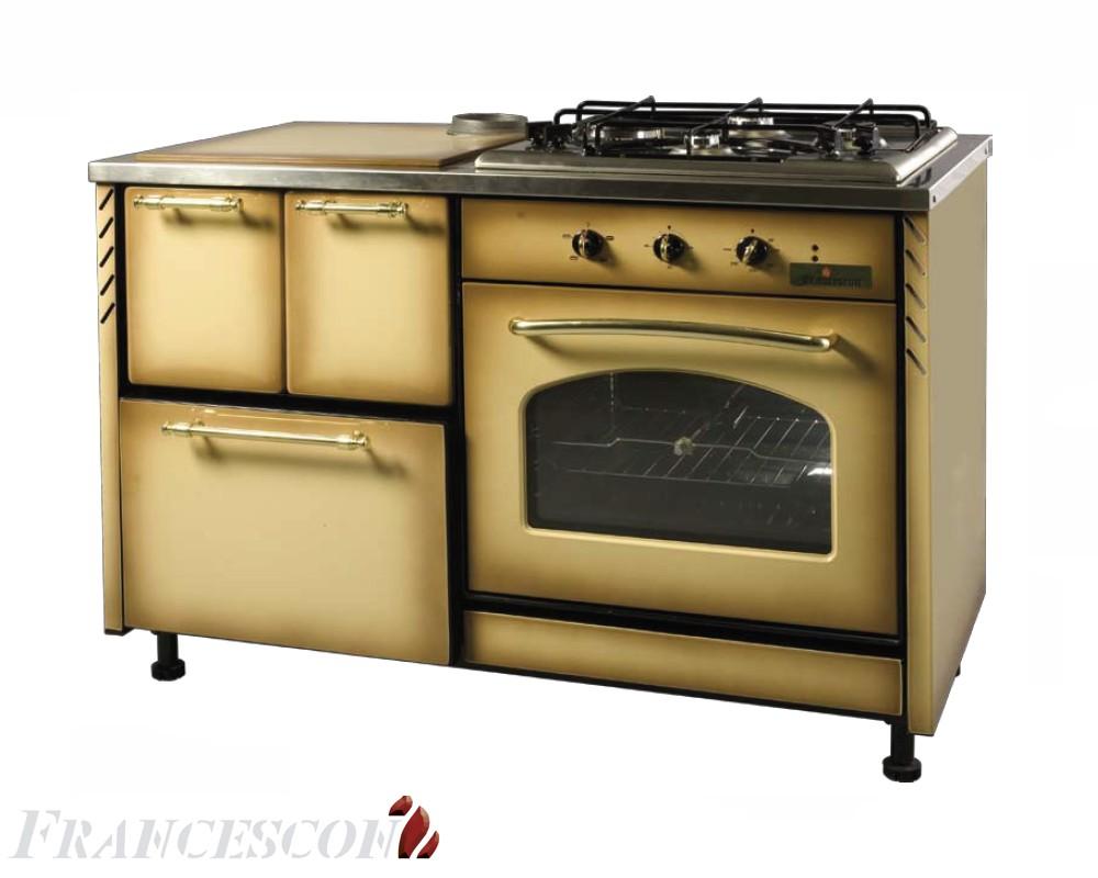 Francescon - Cucina combinata: CLG 1200.2 SPECIAL